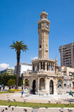Clock Tower in izmir Stock Photography