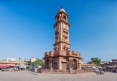 Clock Tower, Jodhpur Stock Photo