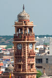 Clock tower in Jodhpur Royalty Free Stock Photography