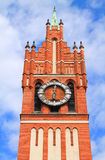 Clock Tower, Kaliningrad Regional Philharmonic Hall Royalty Free Stock Image