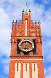 Clock Tower, Kaliningrad Regional Philharmonic Hall. Clock Tower, Kaliningrad Regional Philharmonic Hall Royalty Free Stock Image