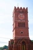 Clock tower at Kamphaeng Phet, Thailand. Clock tower at Kamphaeng Phet province, Thailand Stock Images