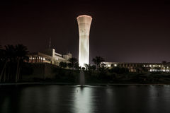 Clock Tower of KFUPM. King Fahd University of Petroleum & Minerals Royalty Free Stock Photos