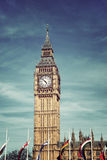 Clock Tower known as Big Ben, in London, UK Royalty Free Stock Image