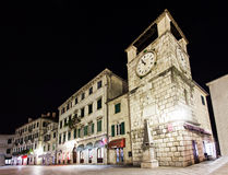 Clock Tower, Kotor Royalty Free Stock Photo