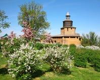 Clock Tower in Kremlin Nizhny Novgorod Royalty Free Stock Photo