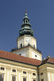 Clock Tower in Kromeriz Royalty Free Stock Photography