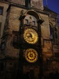Clock Tower, Landmark, Building, Medieval Architecture Royalty Free Stock Photography