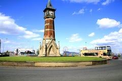 Clock tower landmark. Royalty Free Stock Images