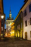 Clock Tower, Landmark of Transylvania, Sighisoara royalty free stock images