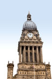 Clock Tower of Leeds Town Hall Royalty Free Stock Photography