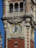 Clock Tower Lille #4 Stock Images