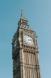 The Clock Tower in London Stock Image