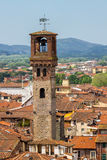 Clock tower in Lucca Royalty Free Stock Image