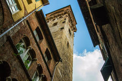 Clock tower in Lucca Stock Photos