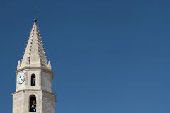 Clock tower in Marseilles Royalty Free Stock Photos