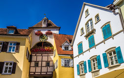 Clock Tower-Meersburg,Lake Constance,Germany Royalty Free Stock Images