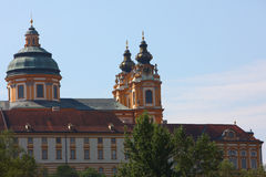 Clock tower in Melk abbey,germany 2011 summer Stock Photography