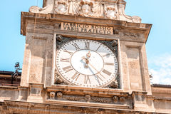 Clock tower in Milan Stock Photos
