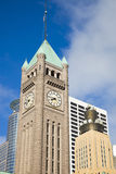 Clock Tower in Minneapolis Royalty Free Stock Photography
