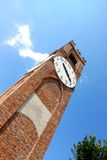 Clock tower in Mondovì, Italy Royalty Free Stock Image