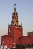 Clock tower of Moscow Kremlin Stock Images