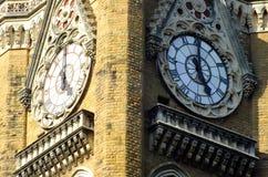Clock tower in Mumbai India Royalty Free Stock Image