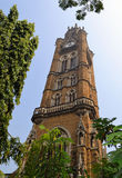 Clock Tower of Mumbai University Stock Photos
