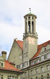 Clock tower in Munich. Germany Royalty Free Stock Photo