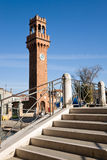 Clock tower, Murano Royalty Free Stock Image