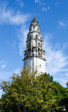 The Clock Tower of the National Museum in Cardiff - Wales, United Kingdom Stock Images