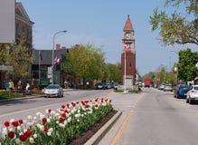 Clock tower in Niagara On The Lake Royalty Free Stock Photo