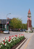 Clock Tower in Niagara On The Lake Stock Image