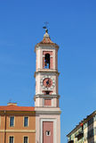 Clock Tower in Nice Stock Images