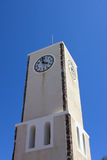 Clock tower in Oia Royalty Free Stock Photo