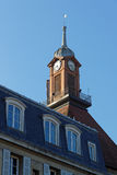 Clock tower of the old convent Royalty Free Stock Images