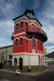 Clock Tower. The old clock tower at the V&A Waterfront stock images