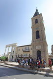 Clock Tower in Old Yaffo, Israel Royalty Free Stock Photo