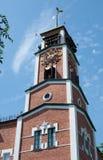 Clock tower, Orenburg Stock Images