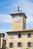 Clock tower of Orvieto Stock Photos