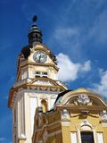 Clock Tower, Pécs, Hungary royalty free stock photography