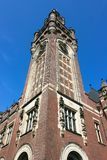 Clock Tower of the Peace Palace Royalty Free Stock Images