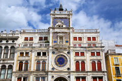 The Clock Tower on Piazza di San Marco in Venice, Italy Royalty Free Stock Photography