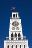 Clock Tower on Plaza Prat Main Square in Iquique, Chile Stock Image