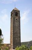 Clock tower in Pocitelj. Bosnia and Herzegovina Stock Photos