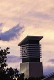 Clock tower in Port Denarau. Nadi, Fiji at sunset Stock Images