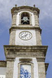 Clock Tower, Porto Portugal Royalty Free Stock Photography