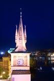 Clock Tower in Prague Royalty Free Stock Photo