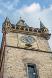 Clock Tower Prague - Czech Republic Royalty Free Stock Images
