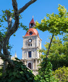 Clock Tower of Rhodes, Greece Royalty Free Stock Image